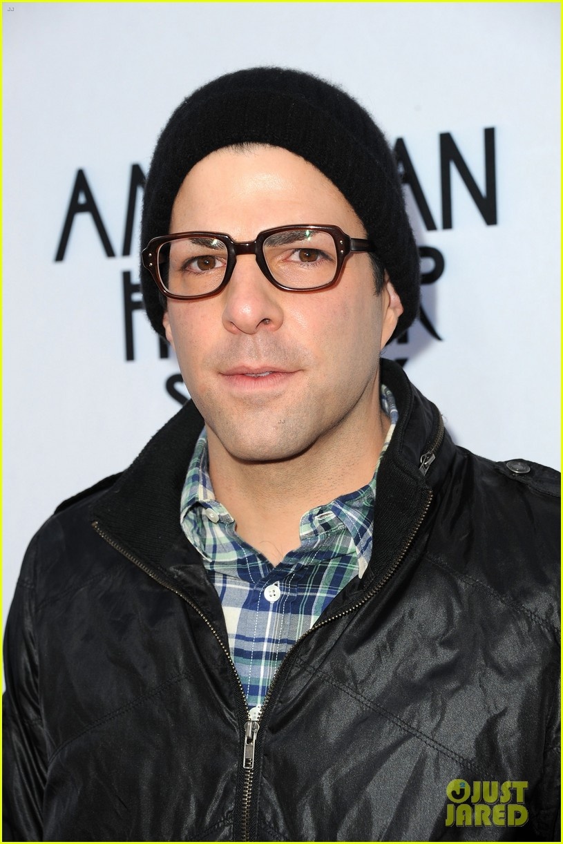 zachary quinto connie britton american horror story screening 012650748