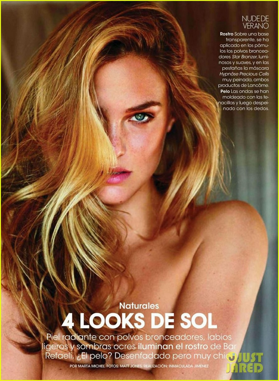 bar refaeli elle spain may 05