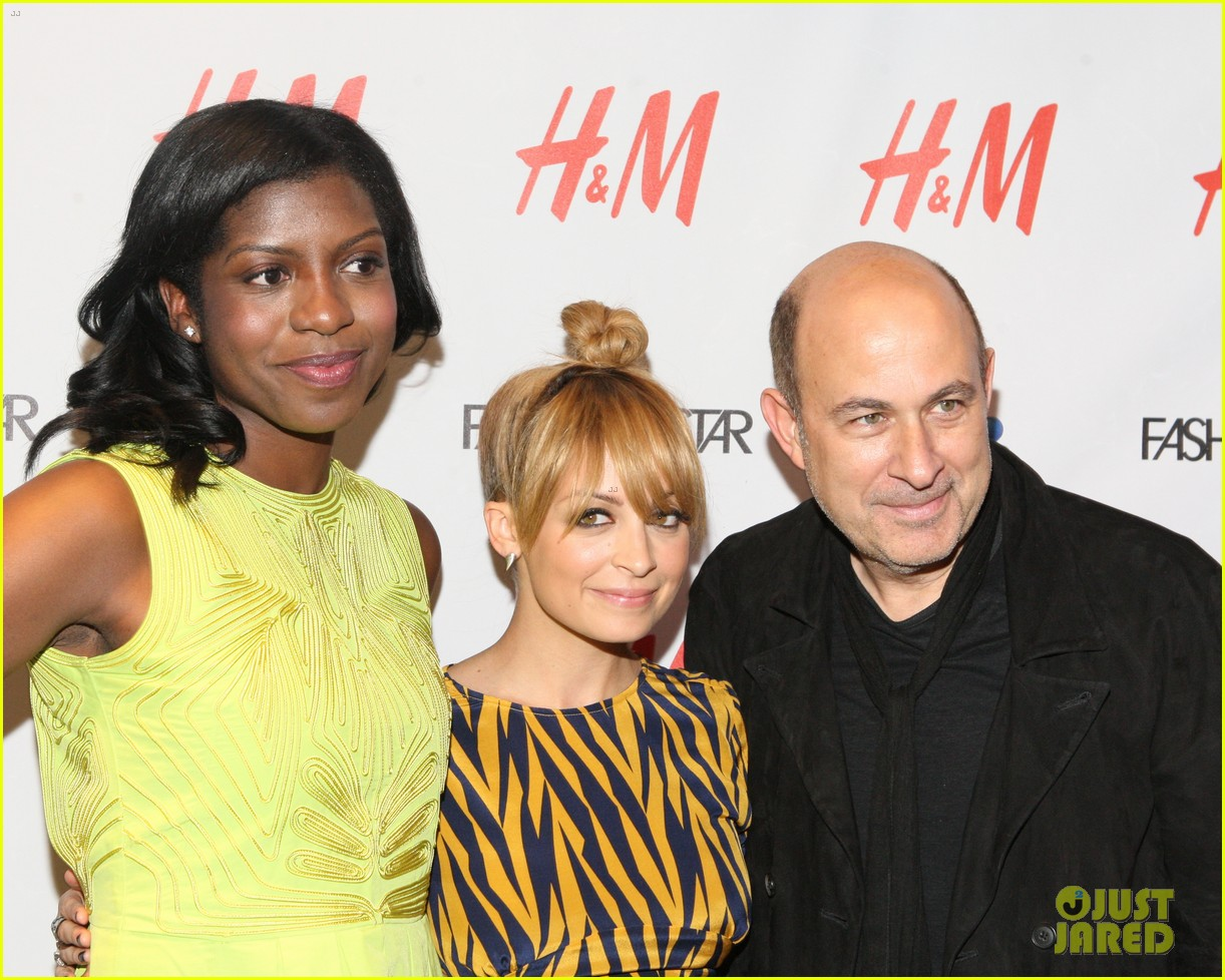 nicole richie hm fashion star celebration with john varvatos 032653524