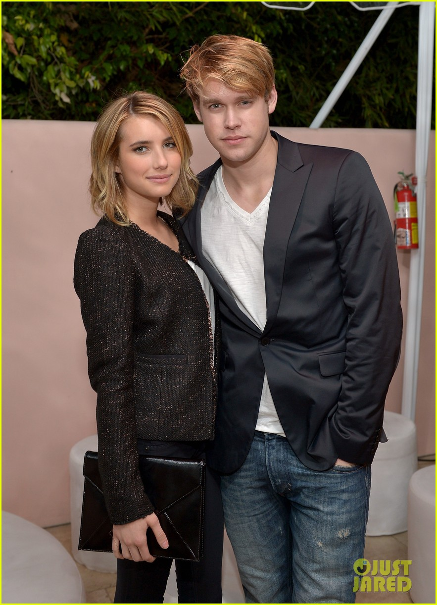 emma roberts chord overstreet conde nast hot list party 03
