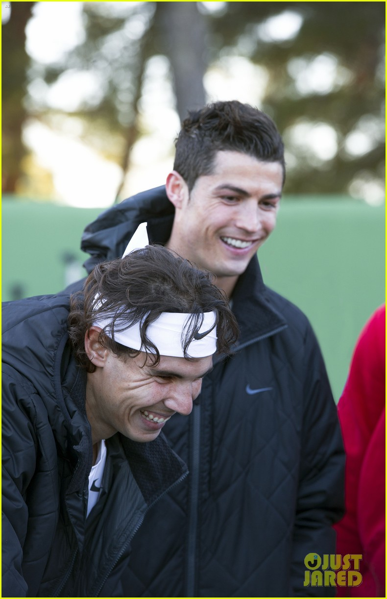 cristiano ronaldo rafael nadal battle it out for nike 032644120