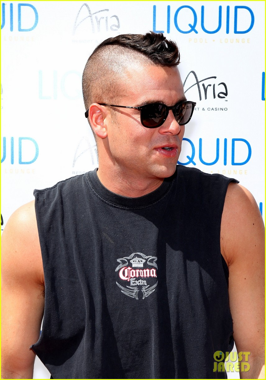 mark salling las vegas pool party 062646497