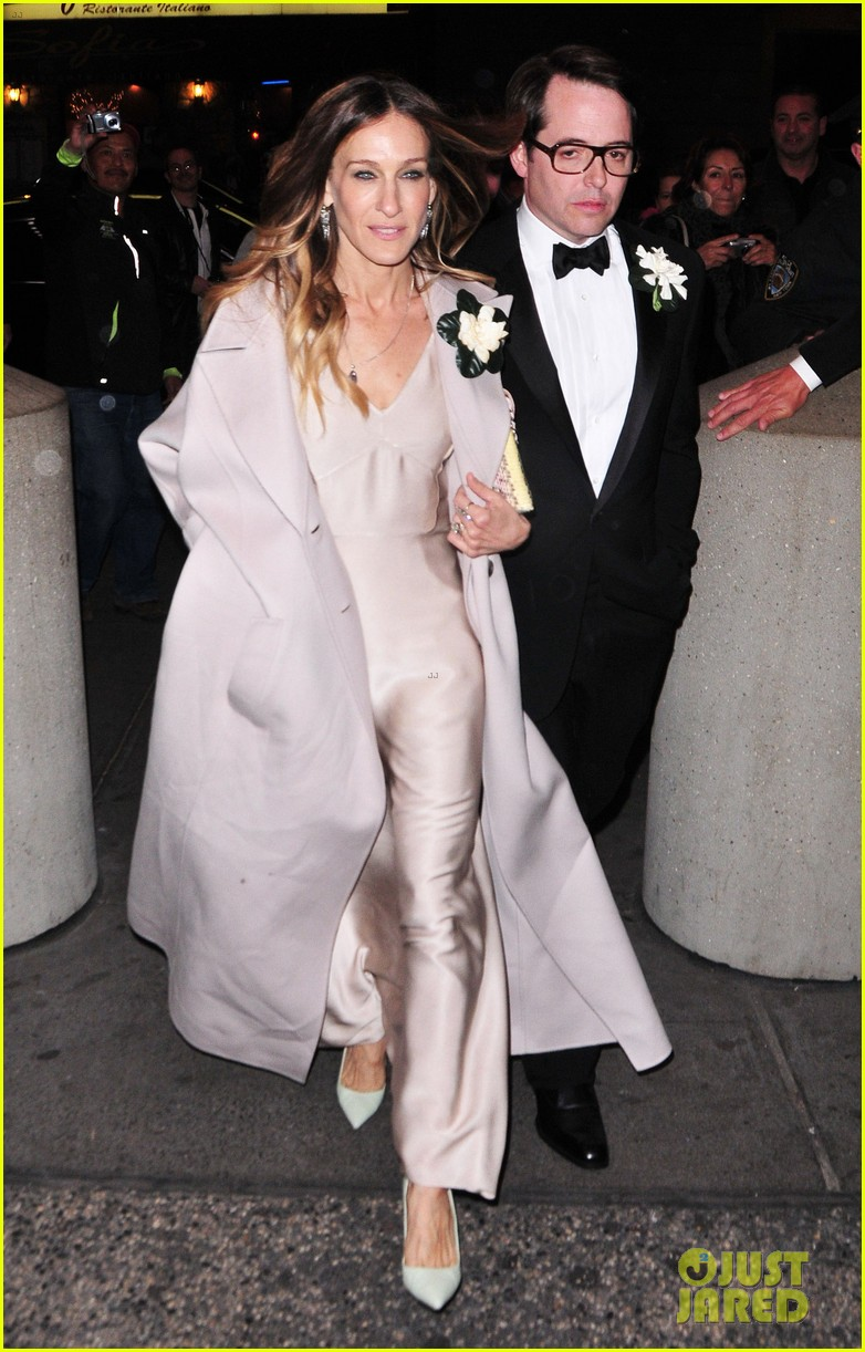 Sarah Jessica Parker Nice Work Opening With The Family
