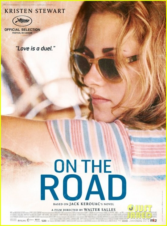 kristen stewart on the road character posters 01