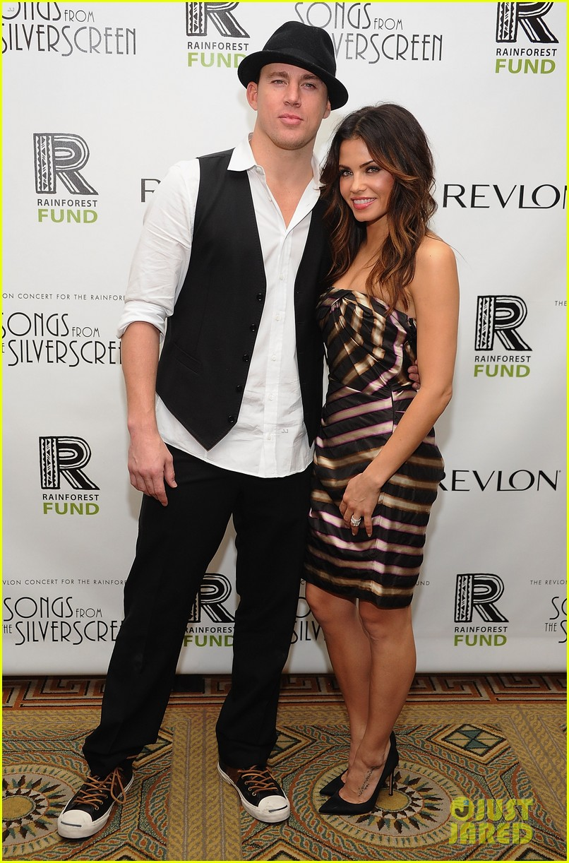 channing tatum jenna dewan 2012 rainforest fund concert 012644906