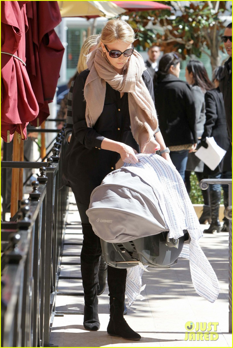 charlize theron out with baby jackson 062644259
