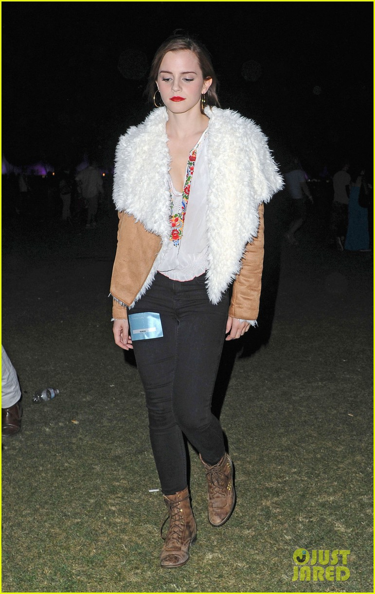 emma watson birthday at coachella 06