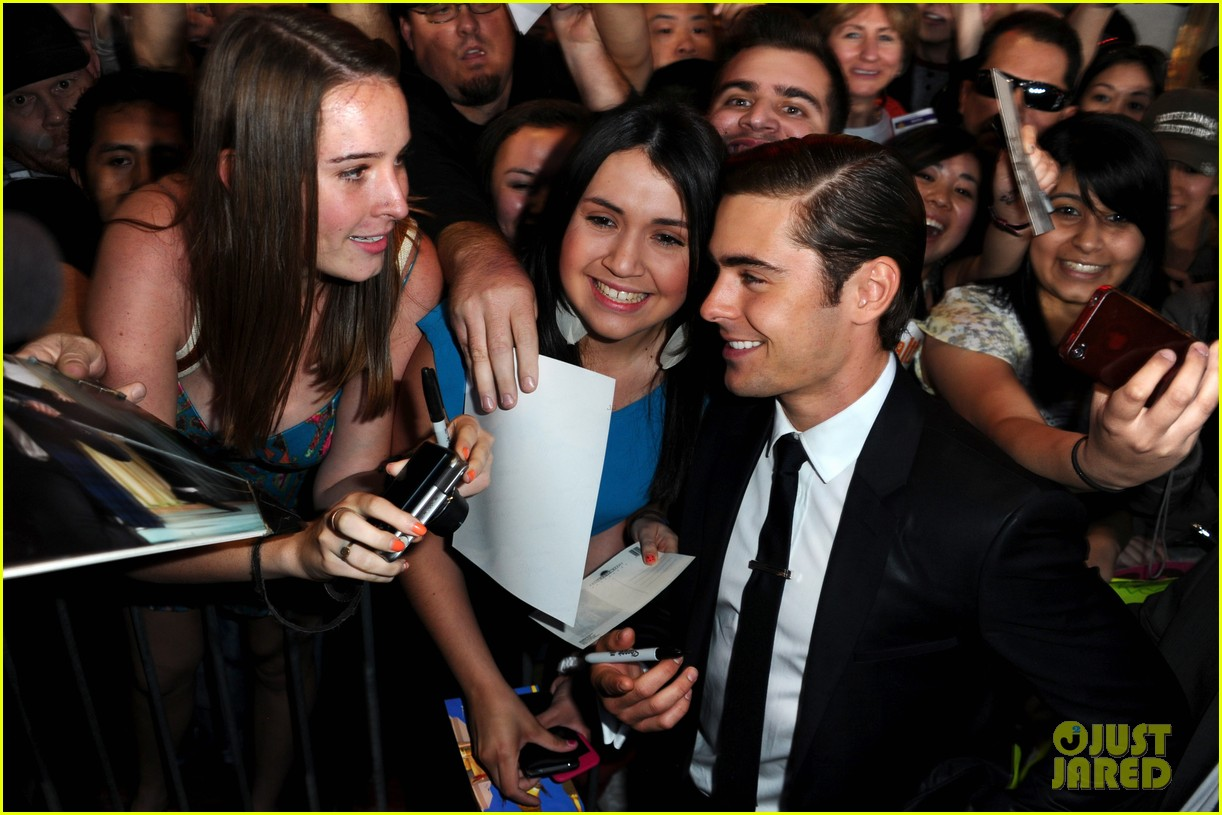 zac efron lucky one premiere 062650004