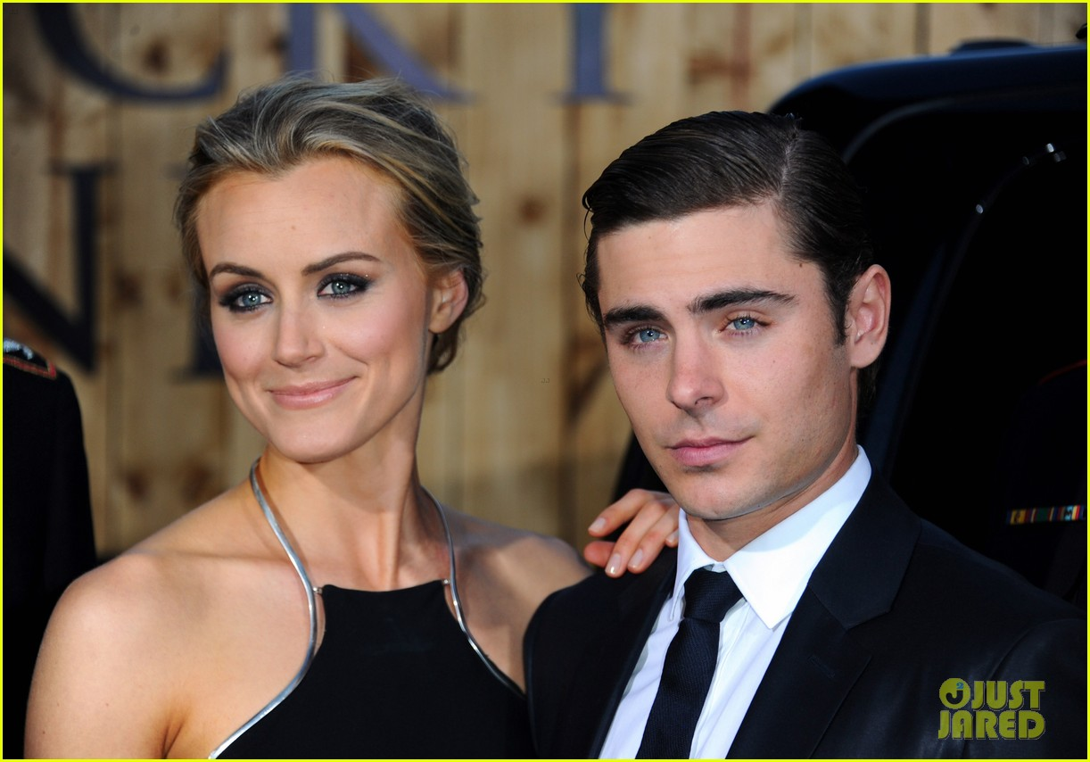 zac efron lucky one premiere 092650007