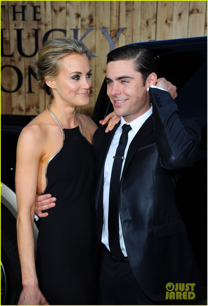 zac efron lucky one premiere 112650009