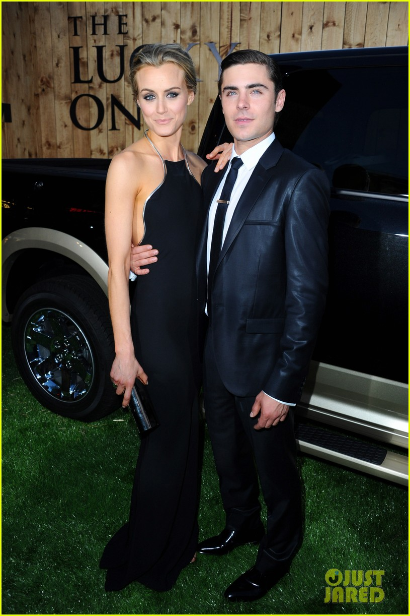 zac efron lucky one premiere 122650010