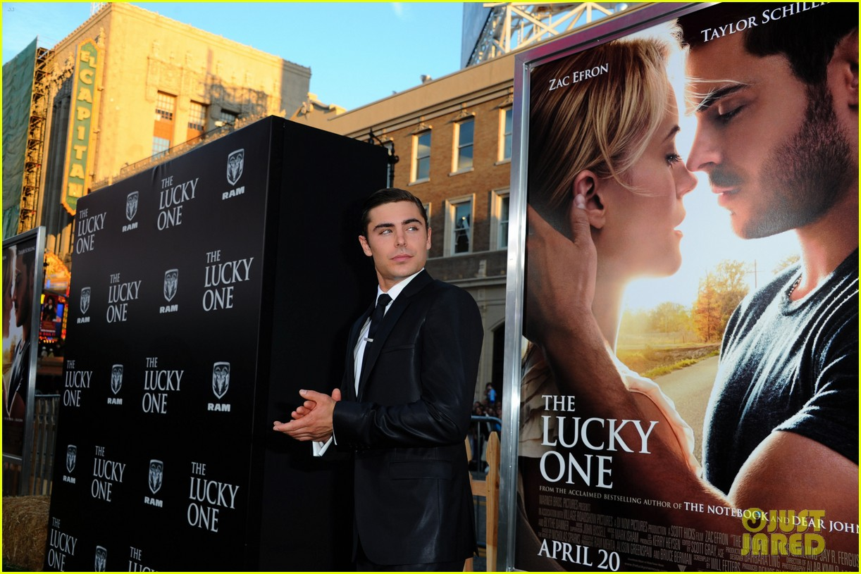 zac efron lucky one premiere 162650014