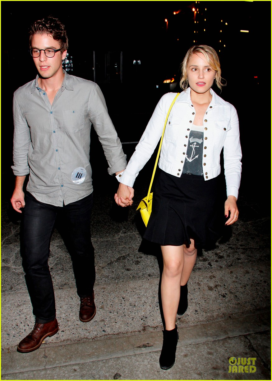 dianna agron henry joost new couple 102668882