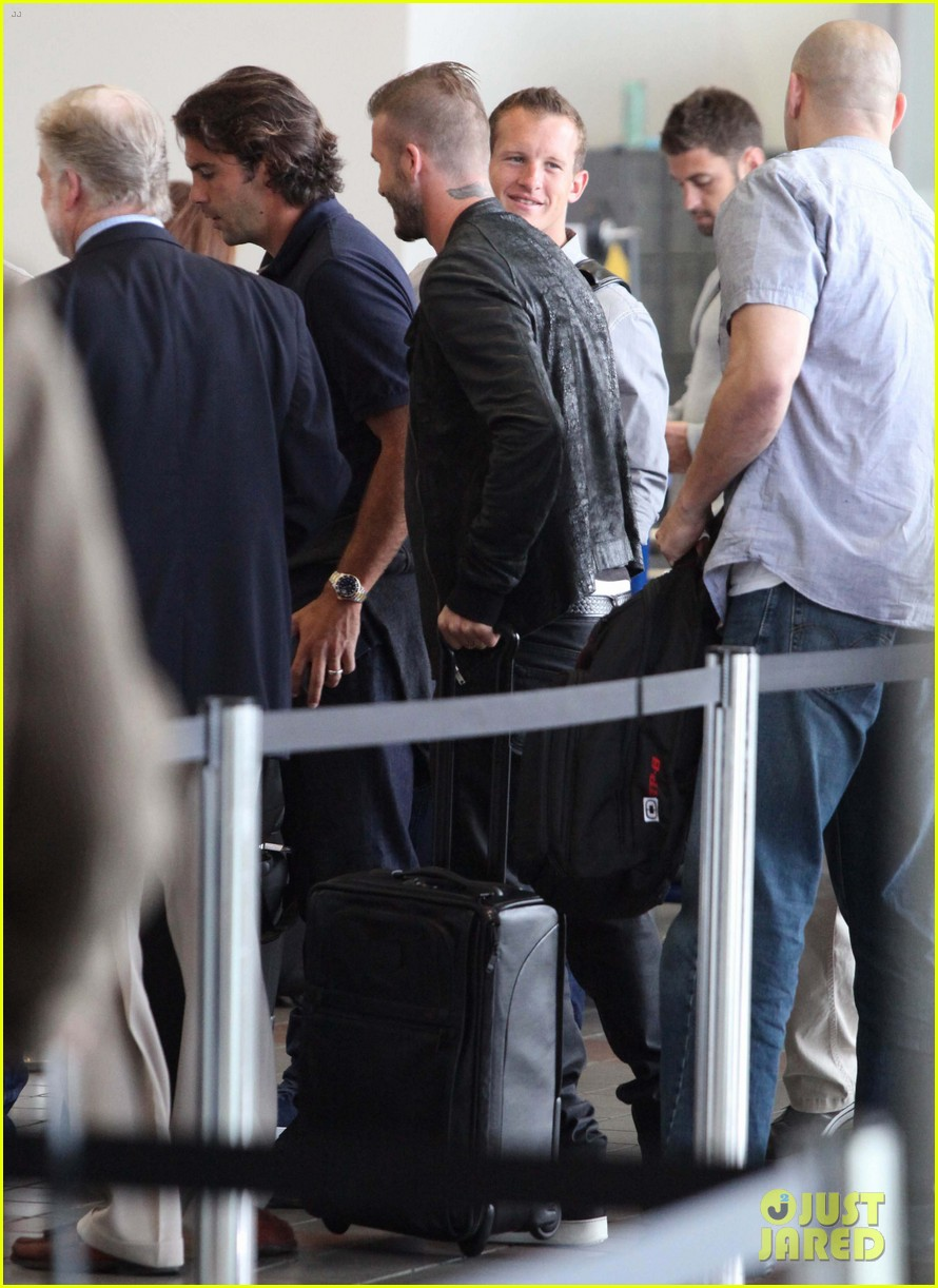 david beckham lax departure 06