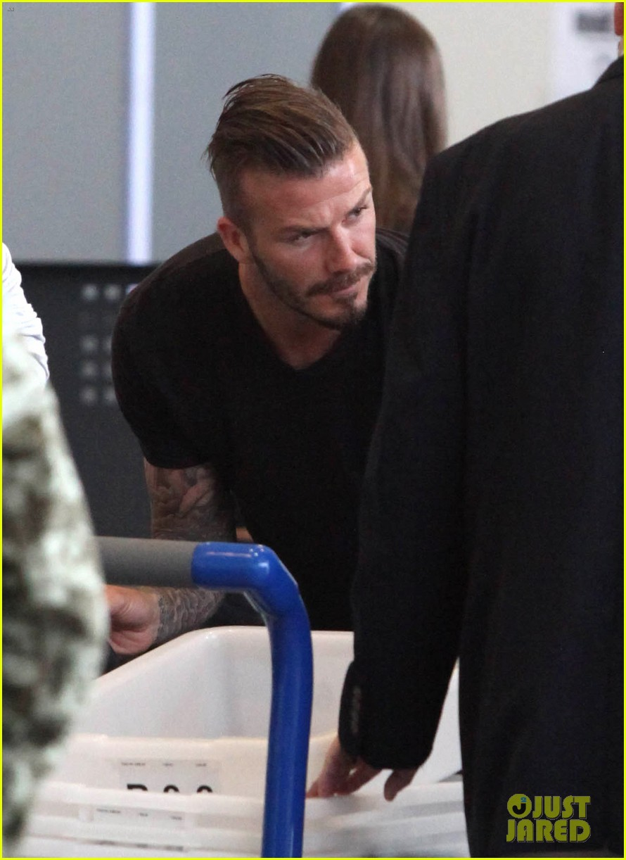 david beckham lax departure 07