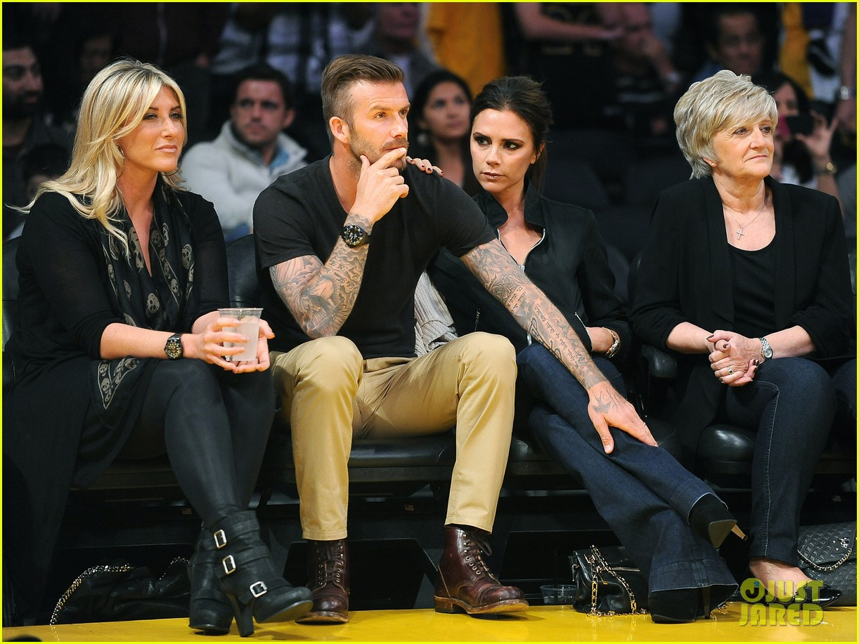 david victoria beckham lakers lovers 012656412