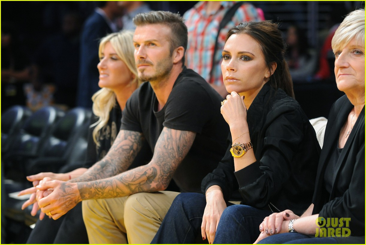david victoria beckham lakers lovers 05