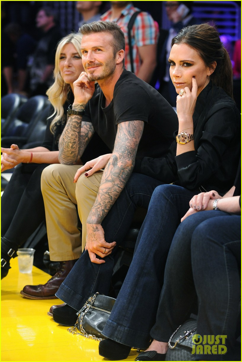 david victoria beckham lakers lovers 072656418