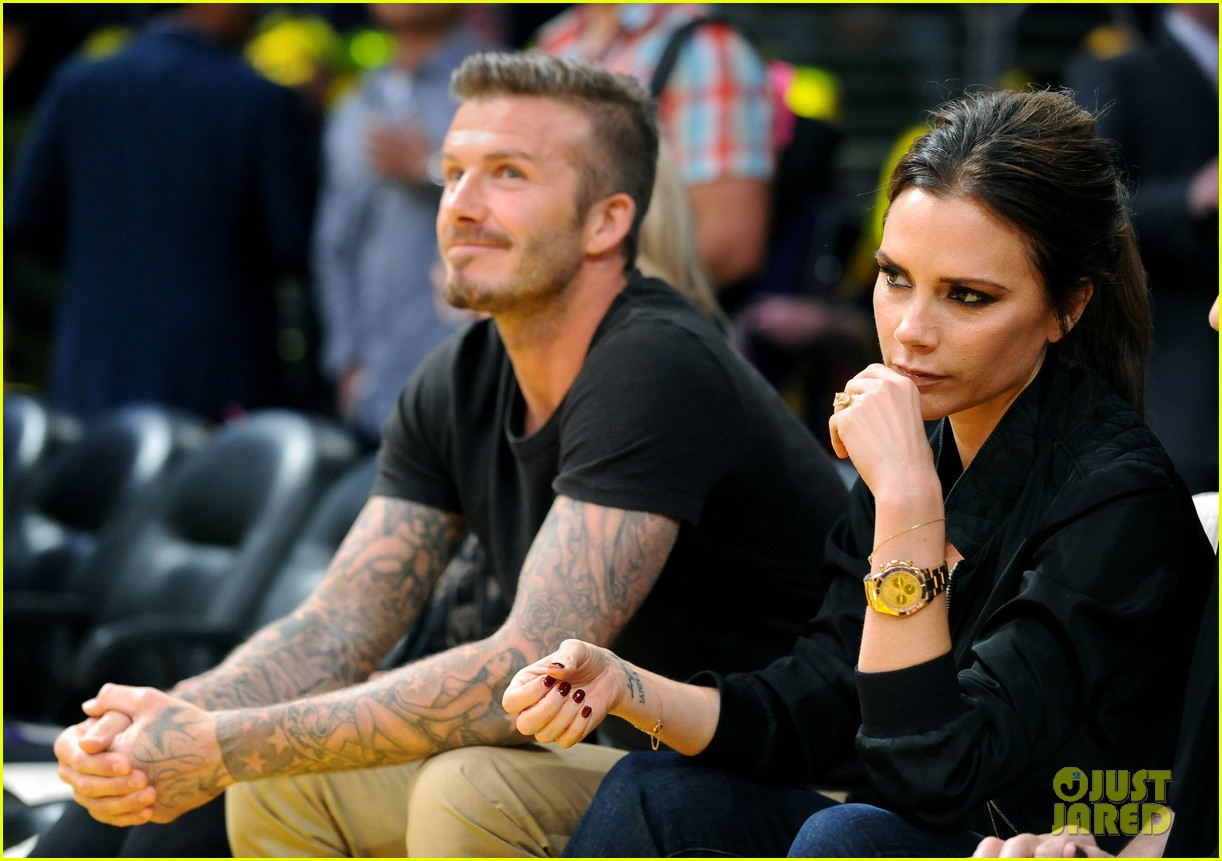 david victoria beckham lakers lovers 092656420