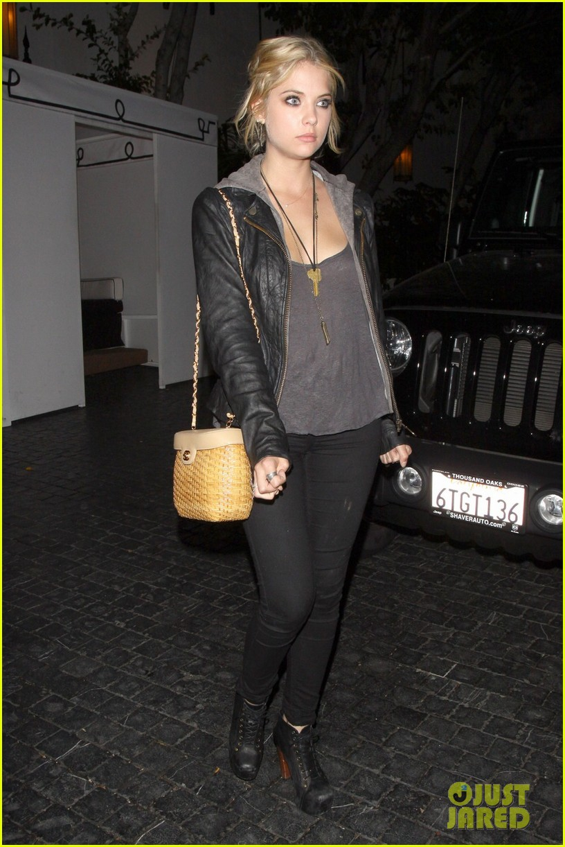 ashley benson leaving marmont 032667033