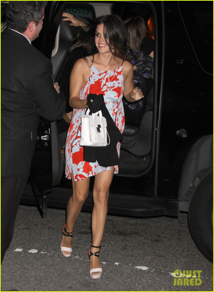 rachel bilson cw upfront after party 01