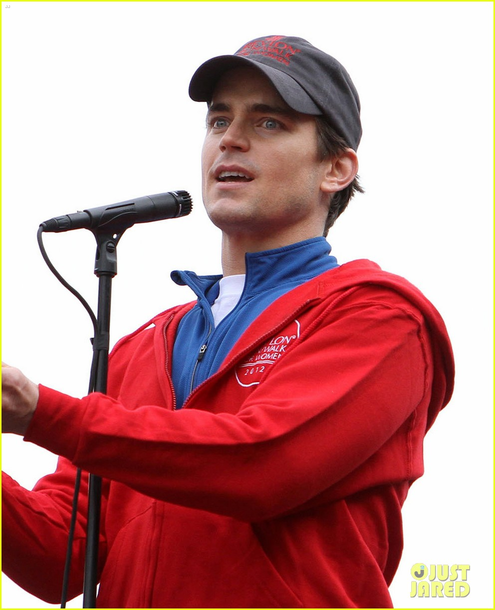 matt bomer revlon walk with simon halls son kit 122661154