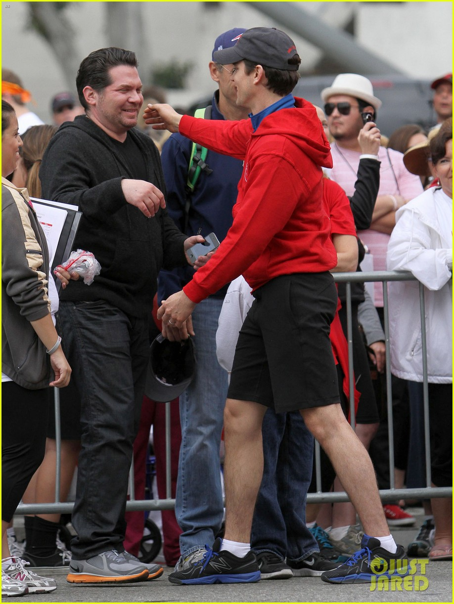 matt bomer revlon walk with simon halls son kit 132661155