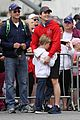 matt bomer revlon walk with simon halls son kit 06