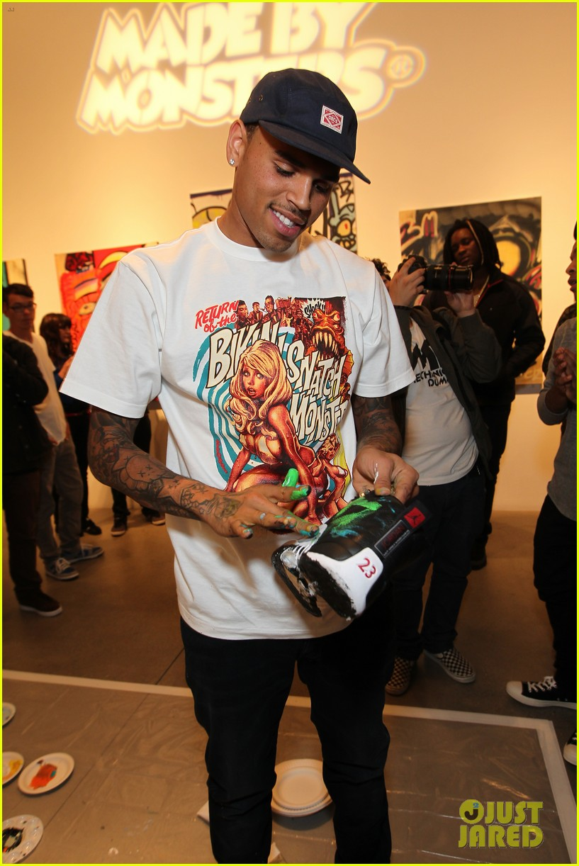 chris brown dum english toy launch 162656700