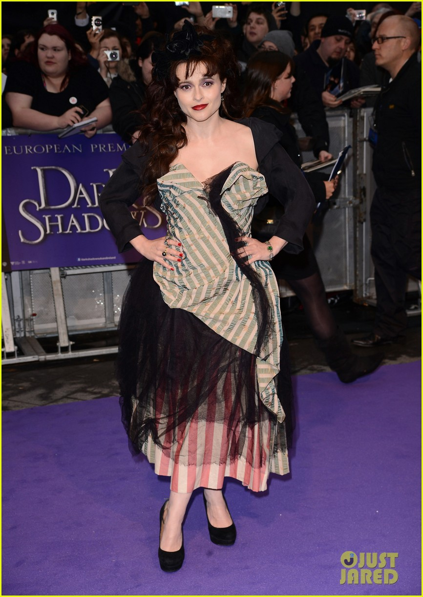 helena bonham carter bella heathcote eva green dark shadows uk premiere 04