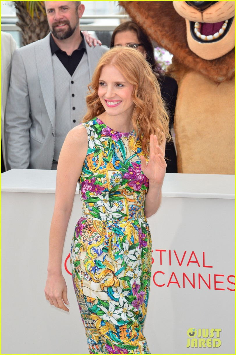 jessica chastain jada pinkett smith madagascar 3 photo call 152663667