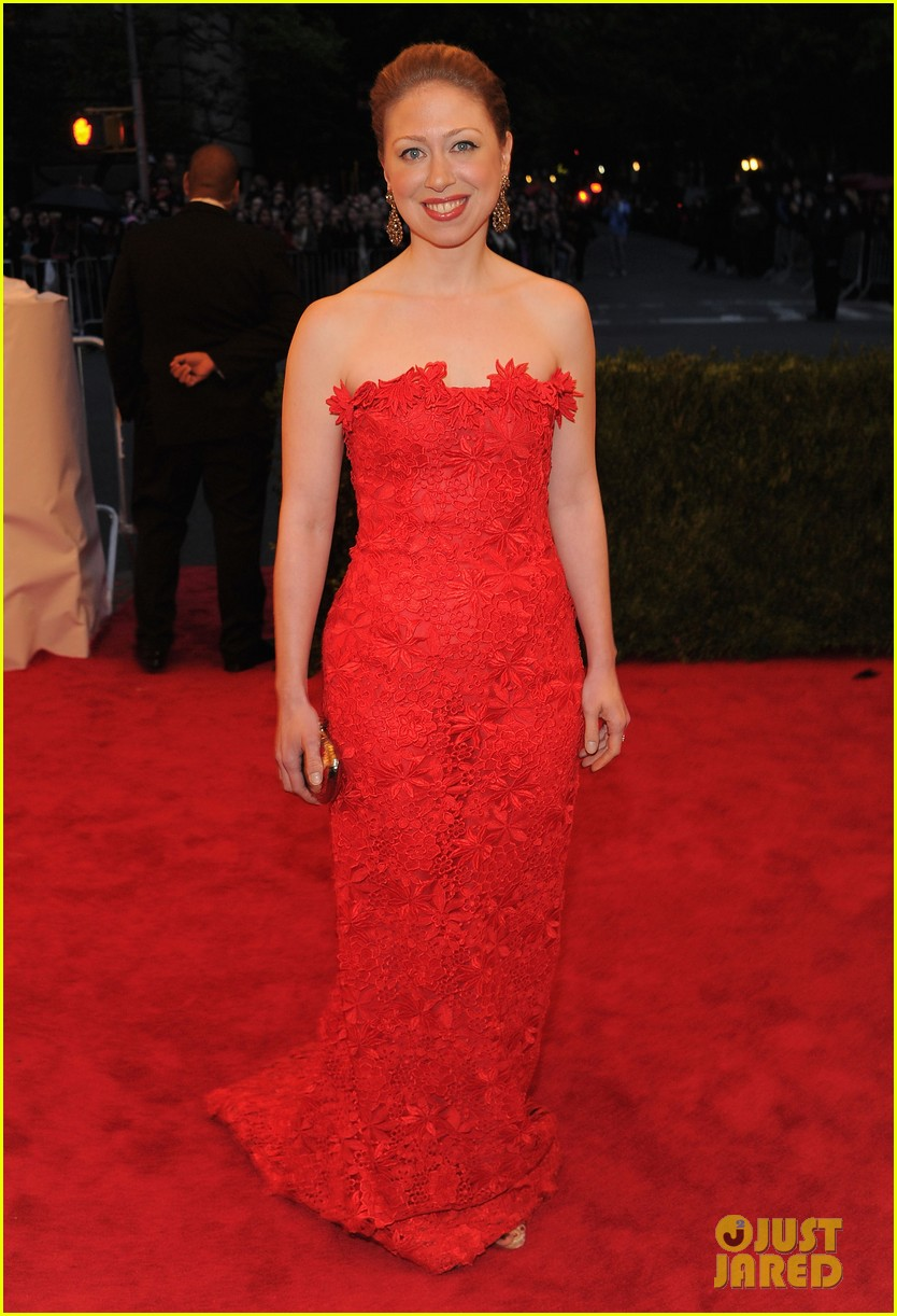 chelsea clinton met ball 2012 01