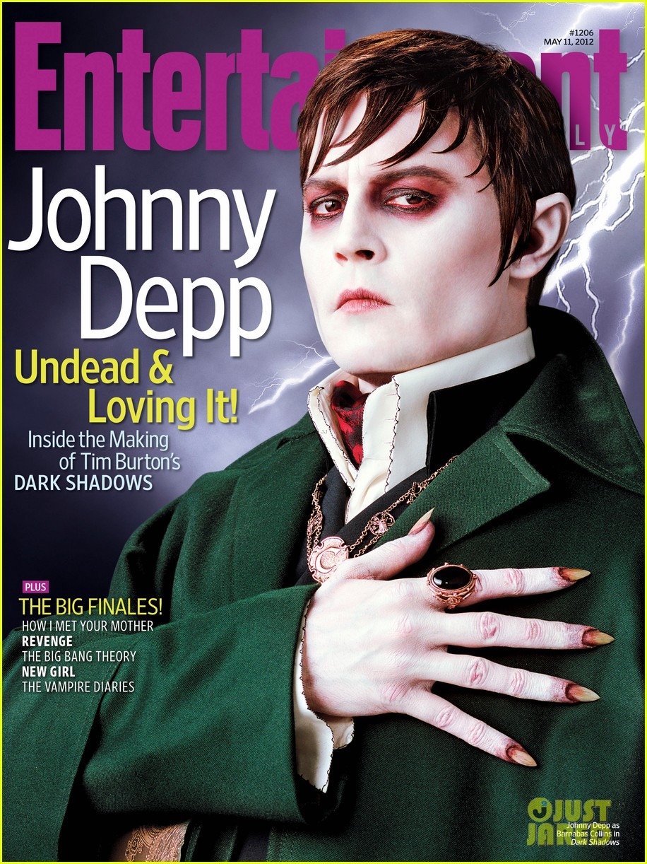 johnny depp ew cover