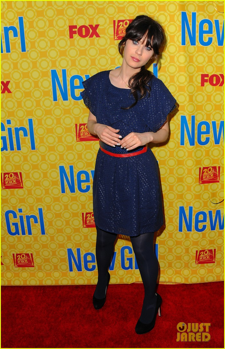 zooey deschanel new girl screening 012659187