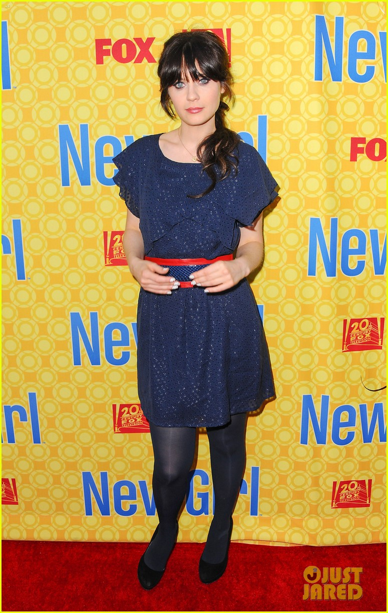 zooey deschanel new girl screening 042659191