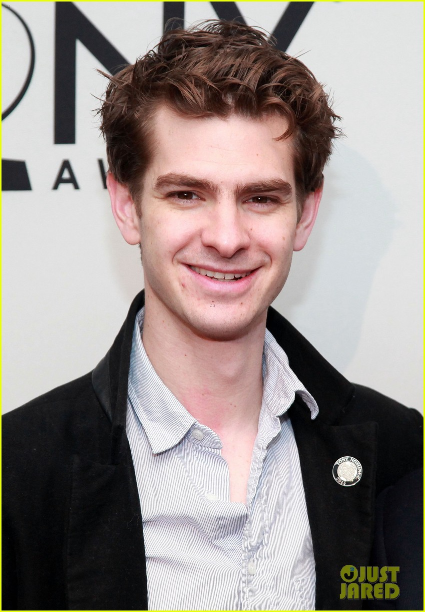 andrew garfield 2012 tony awards meet the nominees 012656680