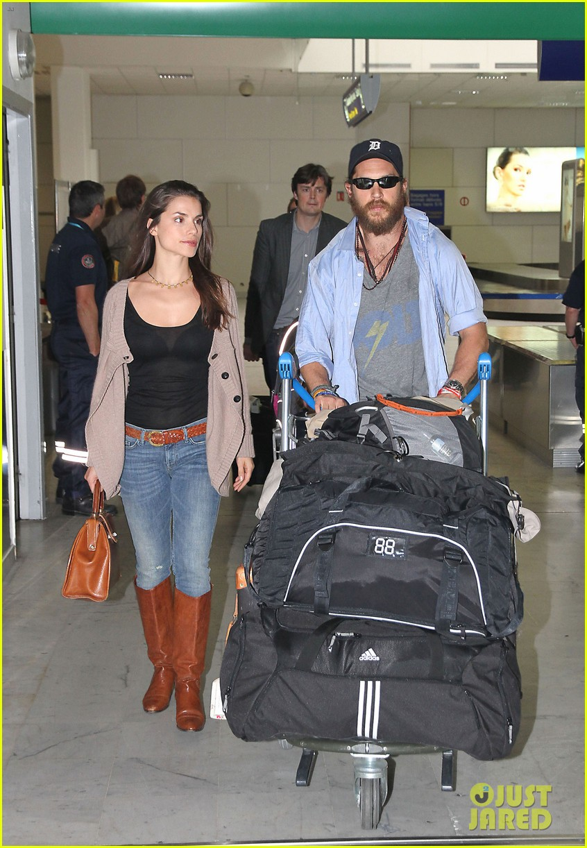 tom hardy charlotte riley cannes couple 012664249