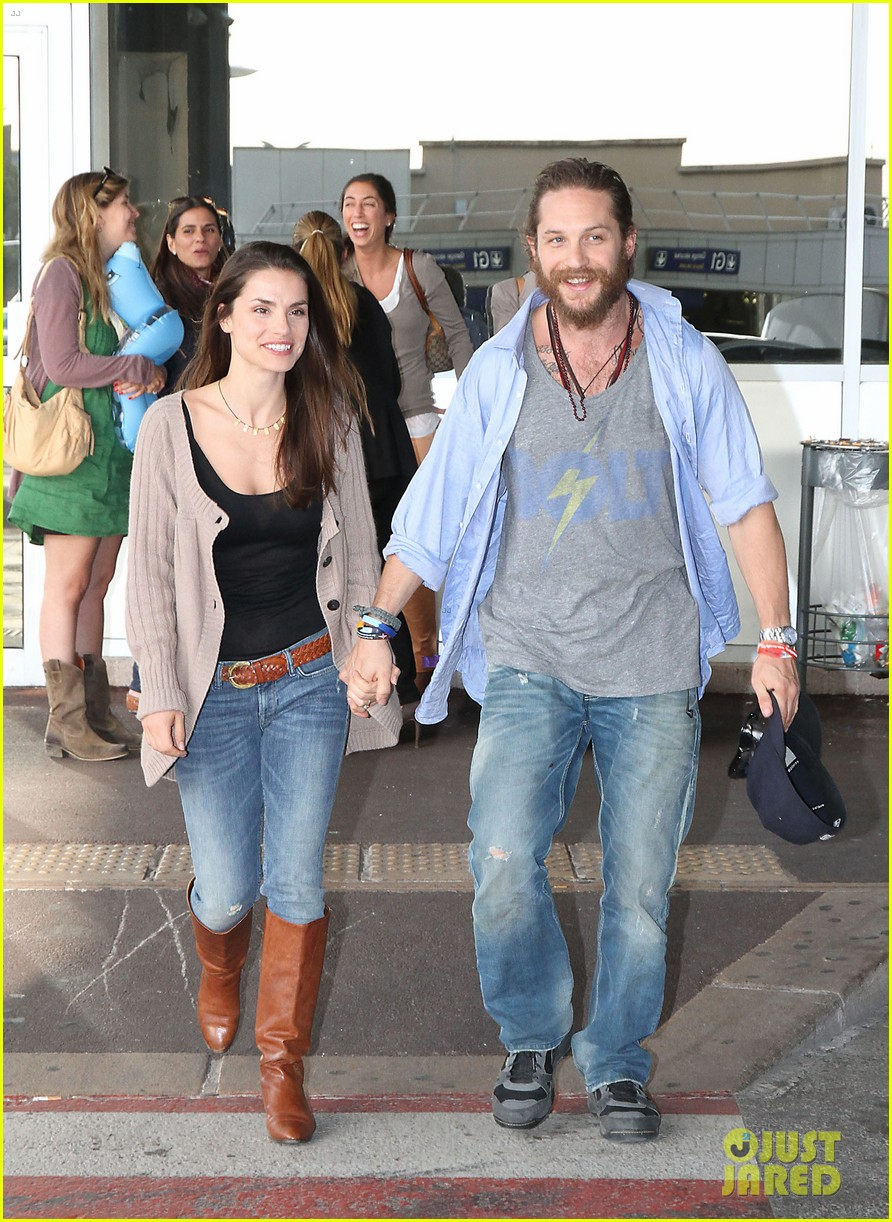 tom hardy charlotte riley cannes couple 052664253
