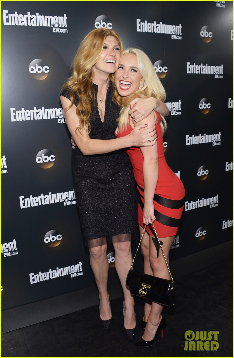 hayden panettiere connie britton abc upfront 012662592