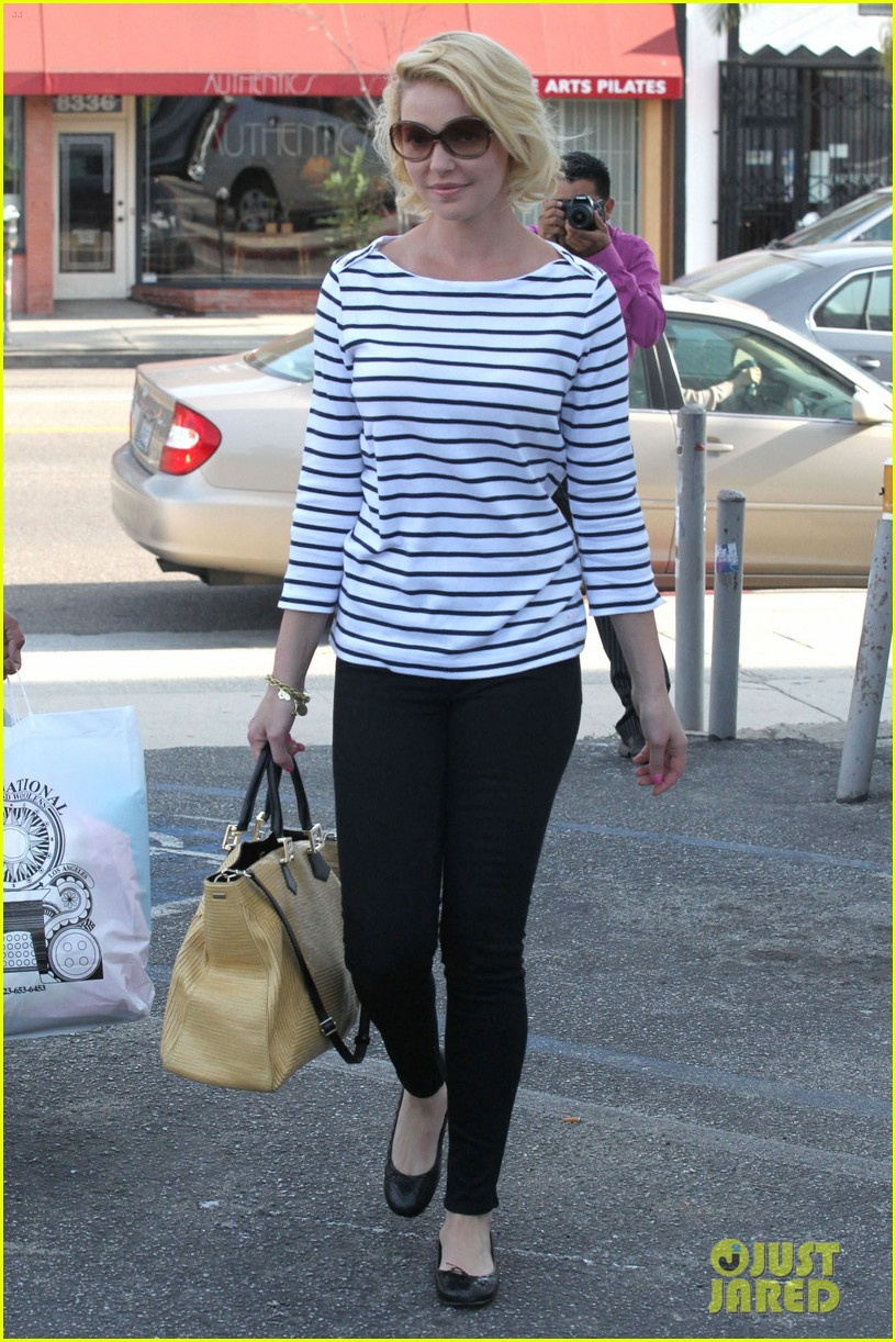 katherine heigl fabric shopping 07