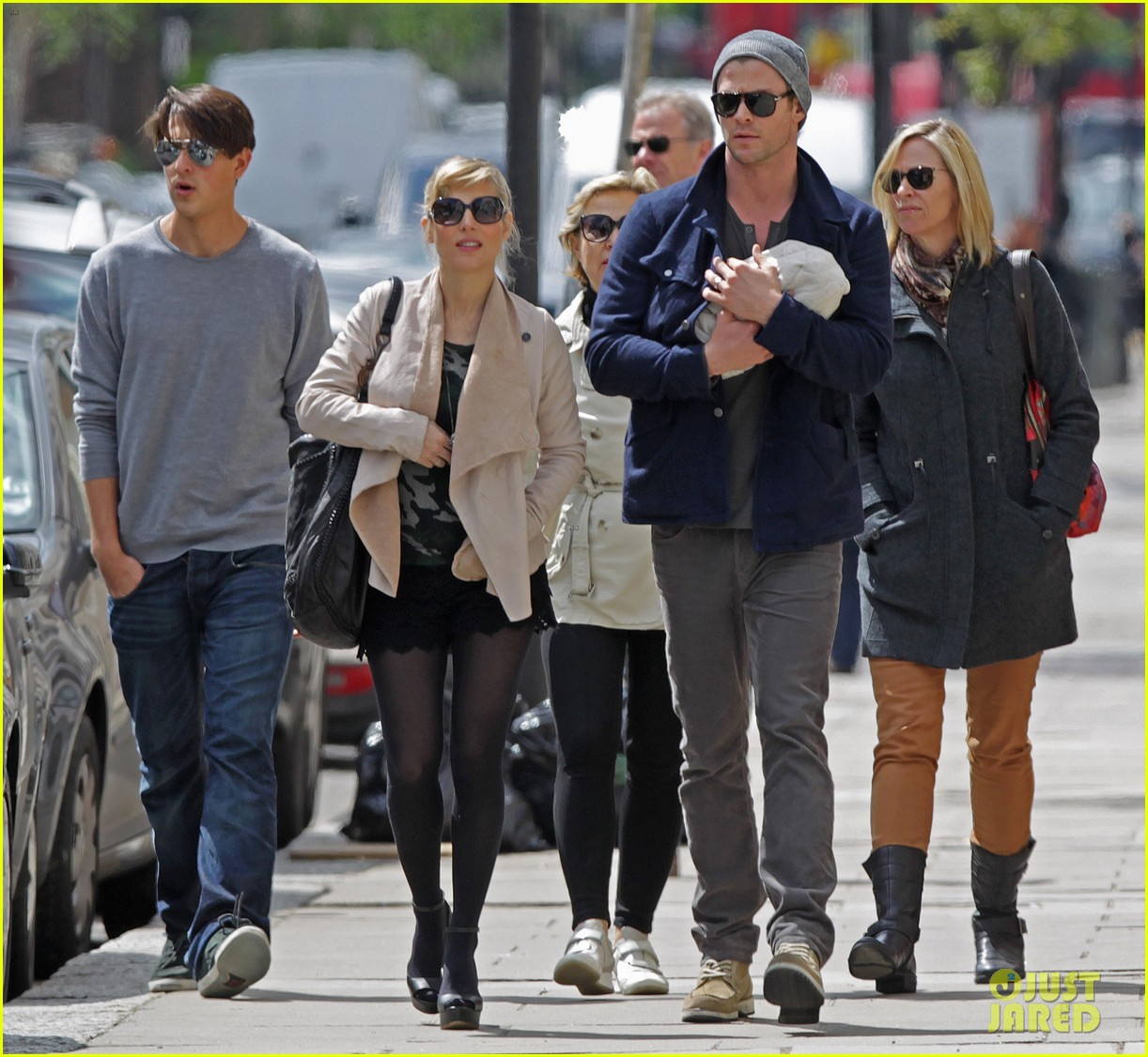 chris hemsworth elsa pataky baby india london 10