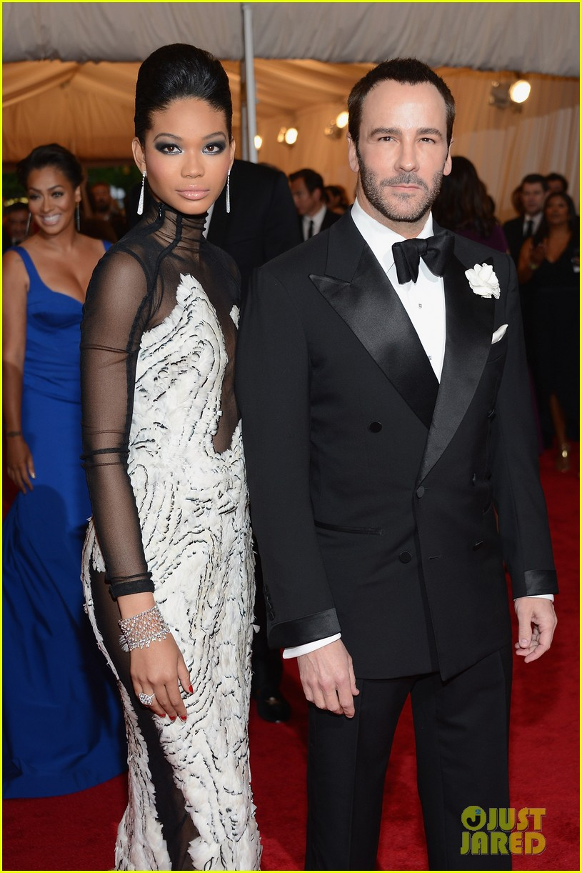 chanel iman candice swanepoel met ball 2012 02
