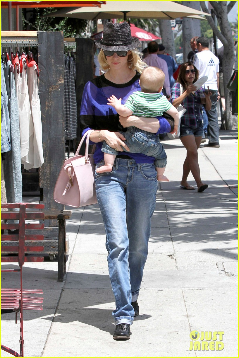january jones lunch with xander 182660665