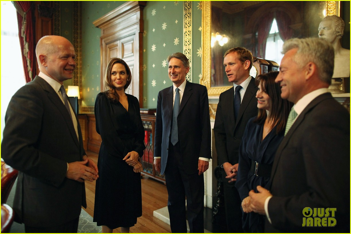 Full sized photo of angelina jolie foreign commonwealth - British foreign commonwealth office ...