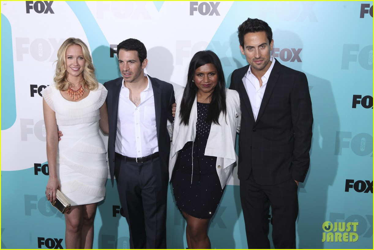 mindy kaling fox upfront with the mindy project cast 012662189