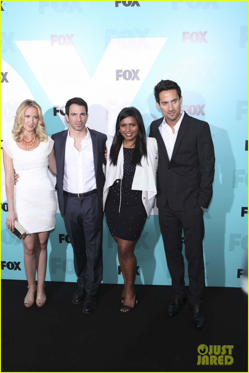 mindy kaling fox upfront with the mindy project cast 022662190