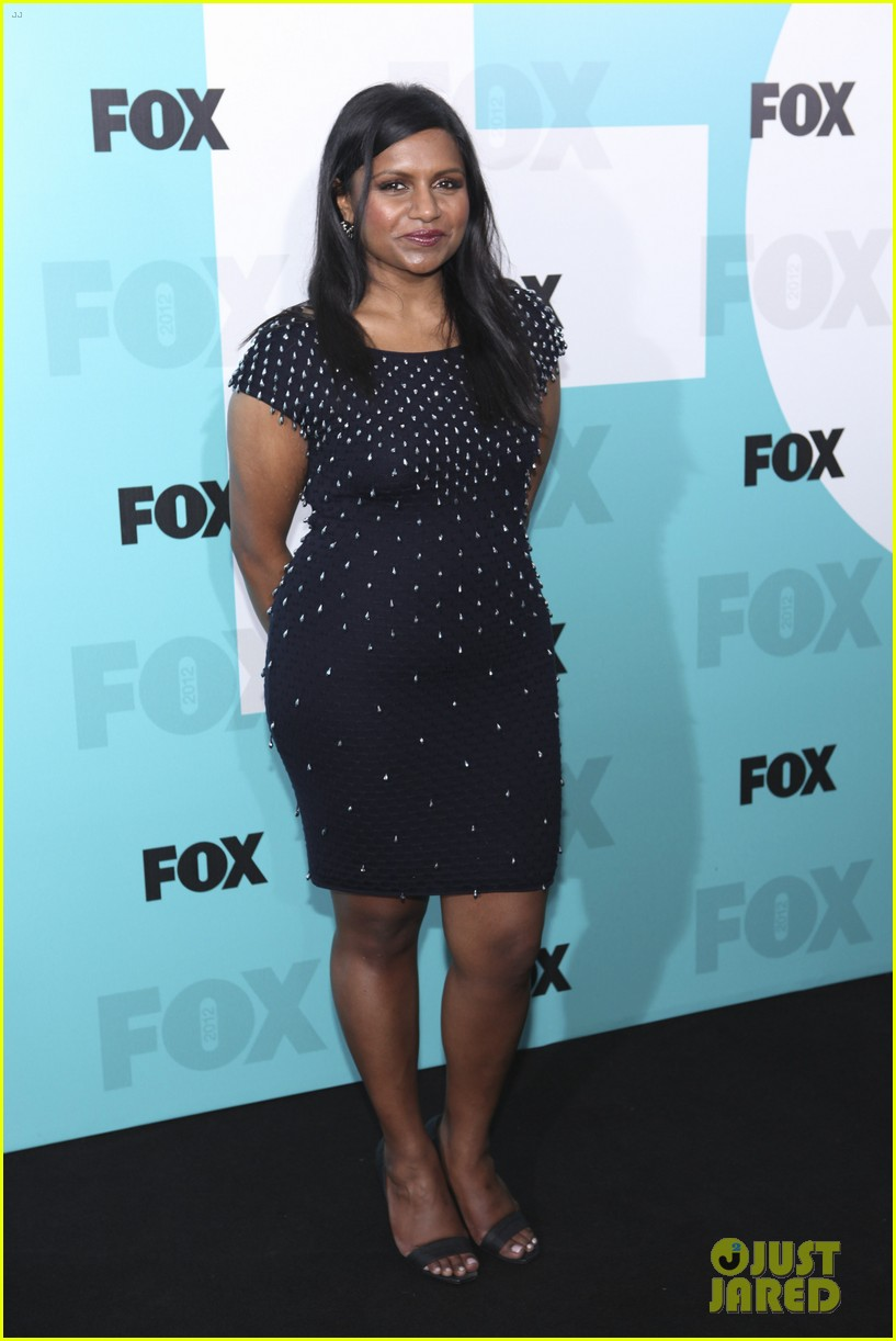 mindy kaling fox upfront with the mindy project cast 032662191