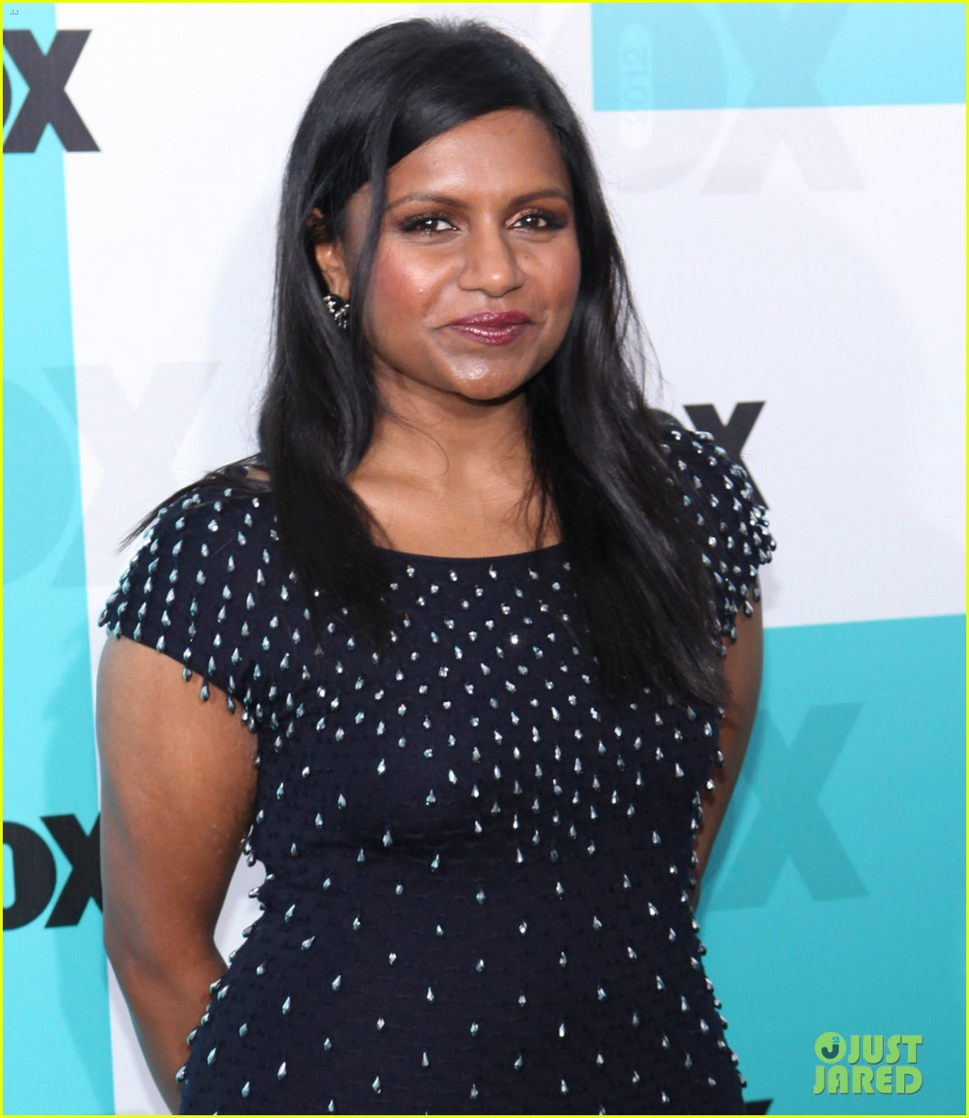 mindy kaling fox upfront with the mindy project cast 052662193