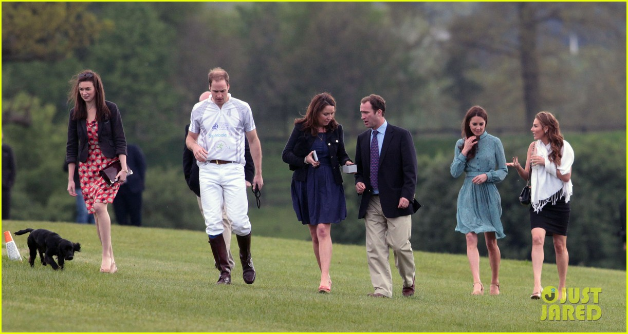 duchess kate polo game prince william 022661488