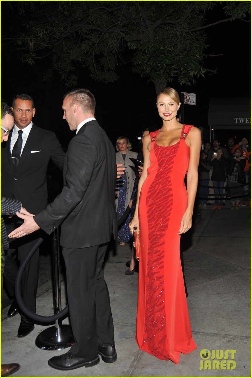 stacy keibler met ball 2012 after party with alex rodriguez 032659231